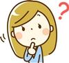 まっしろ美白週間の副作用の質問をする女性のイラスト