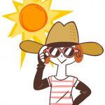 日焼け対策ばっちりのホワイトさんの画像